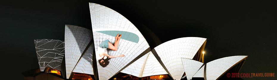 Sydney Opera House Vivid Festival.