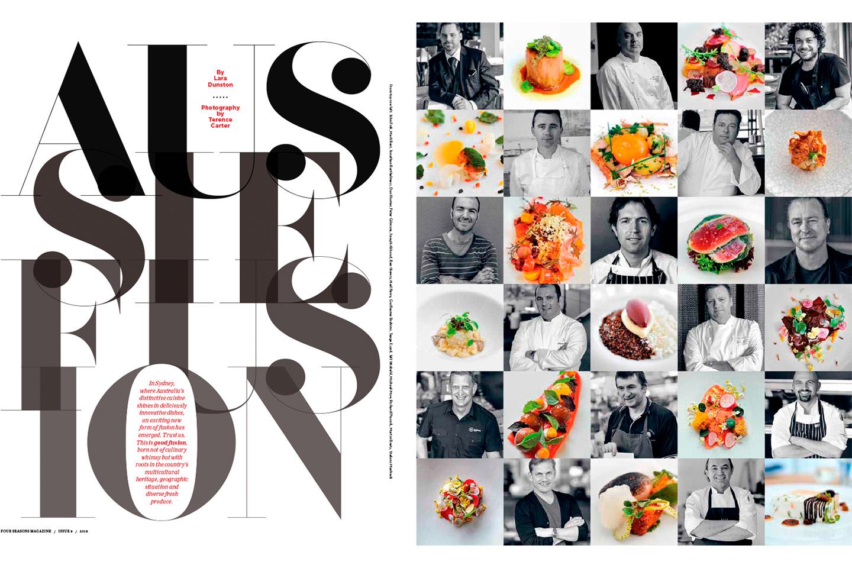 Four Seasons Magazine —Aussie Fusion. Lara Dunston.