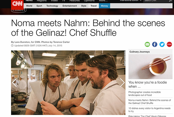 Noma meets Nahm: Behind the scenes of the Gelinaz! Chef Shuffle. By Lara Dunston.