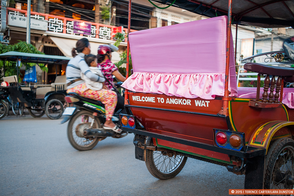 Siem Reap Old Town. Siem Reap Itineraries. Copyright 2015 Terence Carter / Lara Dunston / Grantourismo. All Rights Reserved.